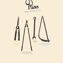 LAS RIAS. Un proyecto de Br, ing e Identidad, Dirección de arte e Ilustración de mauro hernández álvarez - 09.03.2014