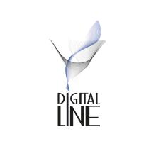 logo digital line. Um projeto de Br e ing e Identidade de Patricia PHP - 09.03.2014
