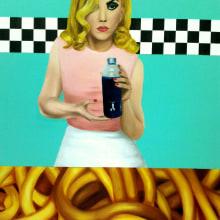 grandes formatos/comida o no. Un proyecto de Bellas Artes y Pintura de Judith Cebrián de Pedro - 10.03.2012