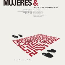 cartel de teatro. Un proyecto de Diseño, Dirección de arte y Diseño gráfico de Judith Cebrián de Pedro - 10.03.2014
