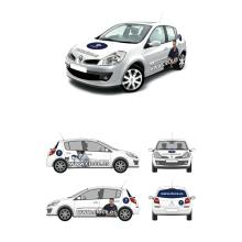 Nueva imagen de la flota automovilística de Clece. Un projet de Design graphique de Pedro Guillermo Pérez Rocha - 20.03.2014