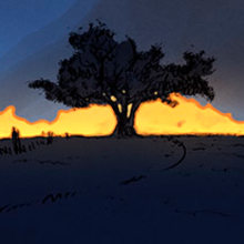 True detective . A Illustration project by Jaime Posadas Fernández - 03.23.2014
