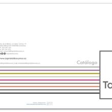 Catálogo TAPRIDEL Descanso. Um projeto de Design, Br, ing e Identidade, Design editorial e Design gráfico de Marta Serrano Sánchez - 25.03.2014