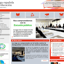 PHP + MySQL + CMS (Gestor de Contenidos) - Liga Española de la Educación. A Web Development project by Francisco Javier Martínez Pardillo - 06.09.2013