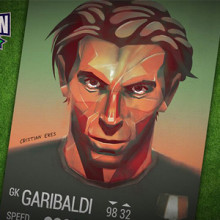 Kampion - Buffon. A Game Design, Graphic Design & Illustration project by Cristian Eres - 03.25.2014