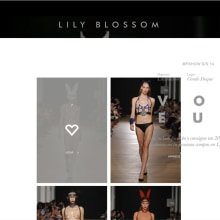 xHTML + CSS + jQuery - Lily Blossom - Microsite Voyeur. A Web Development project by Francisco Javier Martínez Pardillo - 09.29.2013