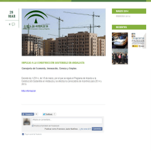 xHTML + CSS + jQuery + PHP + MySQL + CMS (Gestor de Contenidos) - Coneritec. A Web Development project by Francisco Javier Martínez Pardillo - 03.22.2014
