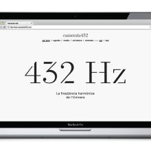 Orquesta Camerata 432. Um projeto de Design gráfico e Web design de Atipus - 29.03.2014