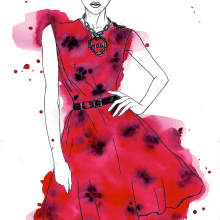 SS2014 Fashion Week. Un proyecto de Ilustración de Raul Viera - 31.03.2014