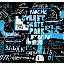 GO Skateboarding Magazine. Un proyecto de Ilustración y Tipografía de Sergio Jiménez - 31.12.2014