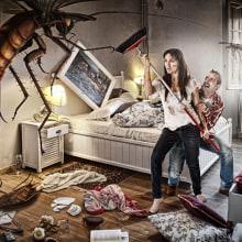 Cockroach attack. Um projeto de Publicidade, Fotografia e Pós-produção de Peter Porta - 31.03.2014