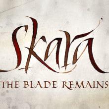 Skara, The Blade Remains. Imagen para videojuego.. Um projeto de Br, ing e Identidade e Tipografia de Ivan Castro - 06.04.2014