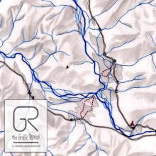 The Grafik Remixer_Mapas Altitud en Vena. Un proyecto de Diseño, Ilustración y Tipografía de Alfonso Girón Pérez - 06.04.2014