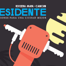 Residente Riviera Maya 005. A Illustration, Art Direction, and Editorial Design project by Johnny Terror - 02.28.2014