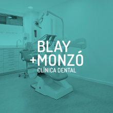 Clínica Blay + Monzó. A Br, ing, Identit, and Product Design project by nueve - 04.09.2014
