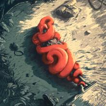 Constrictor. Um projeto de Ilustração, Cinema, Vídeo e TV e Pintura de Juan Esteban Rodríguez - 19.02.2014