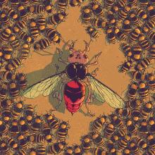 Insectos en guerra. Um projeto de Ilustração de Juan Esteban Rodríguez - 13.04.2014