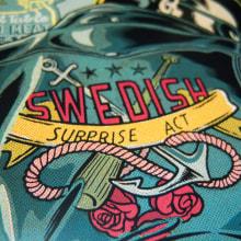 Swedish Surprise Act. Un proyecto de Ilustración, Publicidad, Diseño gráfico, Diseño de producto, Serigrafía y Tipografía de Ink Bad Company - 21.05.2014