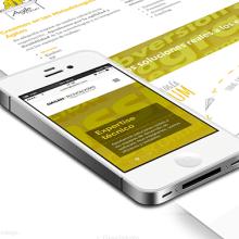 Web - Diseño corporativo UX y GUI. Un proyecto de Ilustración, UI / UX y Diseño Web de Hugo Tobío - 28.05.2014