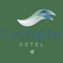 Identidad corporativa de Hotel Coruña Mar. Un proyecto de Br e ing e Identidad de boh - 30.05.2014