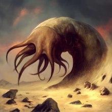 Ilustraciones Lovecraft. Un proyecto de Ilustración de Borja Pindado - 04.06.2014