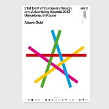 Above Gold - ADCE. Un proyecto de Diseño gráfico de Bisgràfic - 09.06.2014