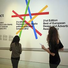 ADCE expo . Un proyecto de Diseño gráfico e Instalaciones de Bisgràfic - 09.06.2014
