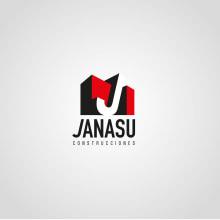 Identidad corporativa de Janasú construcciones. Un proyecto de Br e ing e Identidad de boh - 09.06.2014