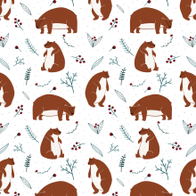 Christmas Patterns. A Design & Illustration project by ana seixas - 07.01.2014