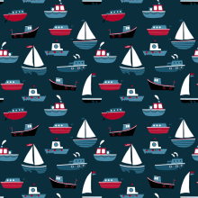 Ahoy Patterns . A Design & Illustration project by ana seixas - 07.01.2014