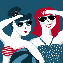 AHOY! . A Illustration project by ana seixas - 02.23.2014