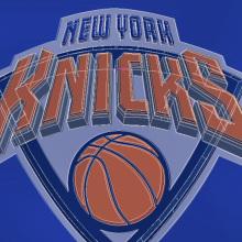 Actualización logo New York Knicks. Un proyecto de Ilustración, Br e ing e Identidad de Hugo Tobío - 08.07.2014