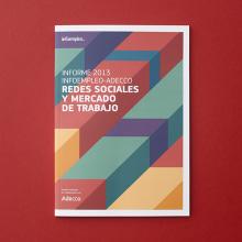 Diseño del Informe sobre redes sociales y empleo 2013. Um projeto de Design editorial de Estudio Menta - 22.07.2014
