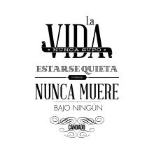 LA VIDA. A Graphic Design project by Laura Alonso Araguas - 09.15.2013