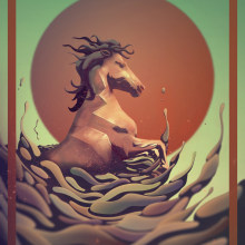 A Galopar. A Illustration project by Cristian Eres - 07.29.2014