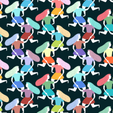 Pattern People. A Graphic Design & Illustration project by ana seixas - 07.30.2014
