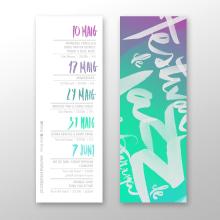Festival de Jazz de la Garriga 2014. A Br, ing, Identit, Graphic Design, T, pograph, and Writing project by La Cova Studio - 08.12.2014