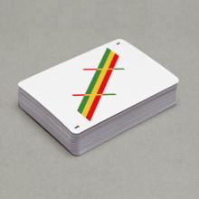Baraja de cartas minimalista. Um projeto de Direção de arte, Design e Design de jogos de Rubén Montero - 12.08.2014