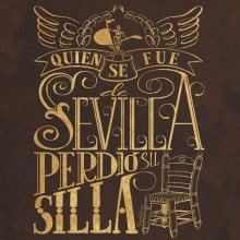 Quien se fue de Sevilla perdió su silla. Un projet de Design , Création d'accessoires et Illustration de Pepetto - 20.08.2014