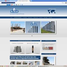 Sitio web de Bunker Seguridad Electrónica. Un proyecto de Diseño Web de Rafael J. Mora Aguilar - 20.08.2014