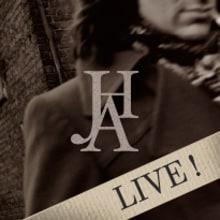 JHA · LIVE! · Poster & Flyer Design. Un proyecto de Diseño, Publicidad, Música, Audio, Dirección de arte, Br, ing e Identidad, Gestión del diseño, Diseño editorial, Eventos y Diseño gráfico de Mapy D.H. - 30.09.2014