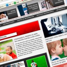Sitio web e intranet del Instituto Superior de Diseño  (ISDi). Un proyecto de Diseño Web de Leonel López Remuñán - 27.08.2014