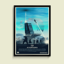 The Avengers. A Illustration, Film, Video, TV, and Graphic Design project by Eric Veiga Gullon - 09.09.2014