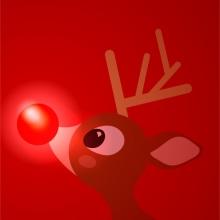 Rudolph te guía. Un proyecto de Diseño, Ilustración y Dirección de arte de Alejandro Mazuelas Kamiruaga - 17.09.2013