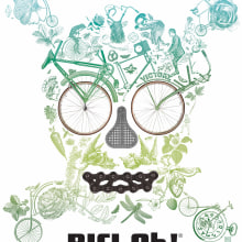~ BICI,Oh!® ~. A Illustration, Costume Design, and Fashion project by Gustavo Solana - 09.16.2014