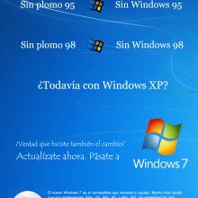 """Copy """"Actualízate a Windows 7"""". Un proyecto de Escritura y Publicidad de Carlos Rivas Fernández - 18.01.2011"""