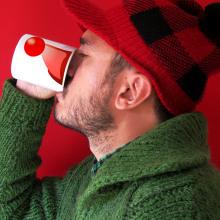 Christmas Mug. Un proyecto de Diseño, Diseño gráfico y Diseño de producto de Alejandro Mazuelas Kamiruaga - 14.09.2014