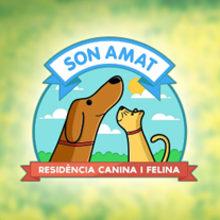 Son Amat. Un proyecto de Ilustración, Br, ing e Identidad y Diseño gráfico de Nardo Ferrer Torres - 21.11.2013