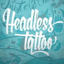 Headless Tattoo. Un projet de Illustration, Mode , et Sérigraphie de Eneri Mateos - 22.09.2014