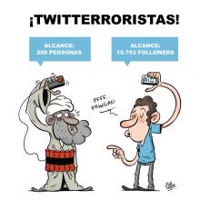 Mi Proyecto del curso Humor gráfico para principiantes. A Illustration project by Raúl Salazar - 09.22.2014